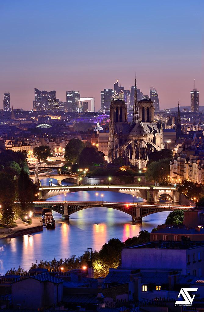 Paris la d fense ii notre dame grand palais la d fense flickr for Photographe la defense