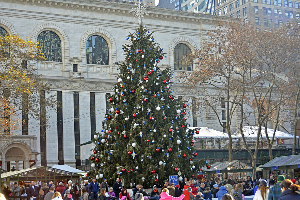 Picture Of Bryant Park 39 S 2013 Christmas Tree The Bryant P