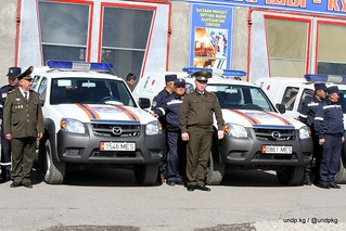 Handover of Equipment to MES | by UNDP in Kyrgyzstan