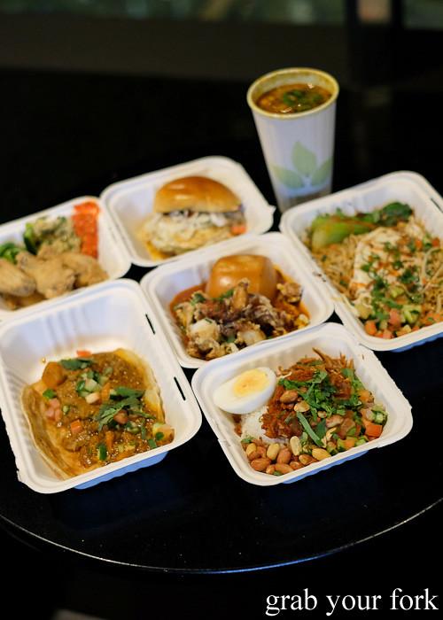 Roti, Ramli slider, nasi lemak, maggi goreng and more from Yang's Malaysian Food Truck in Sydney