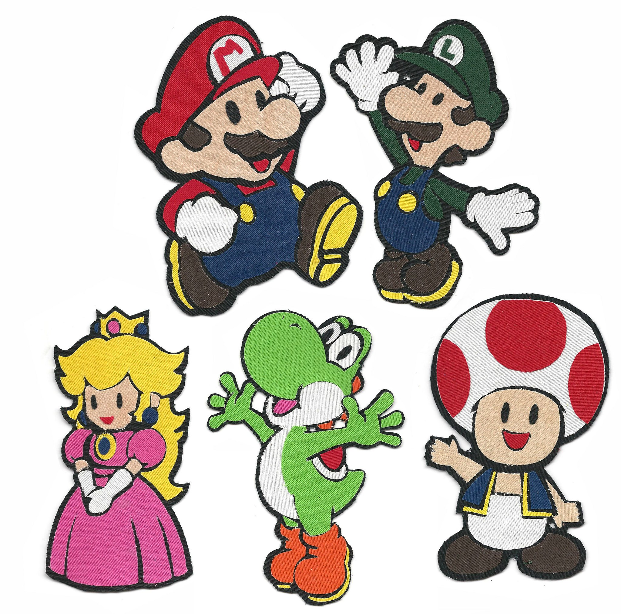 Fabric Pop Culture by Alysha Crist - Super Mario Bros.