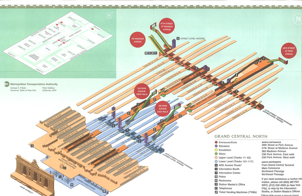 Infographics Maps Music And More Grand Central Terminal