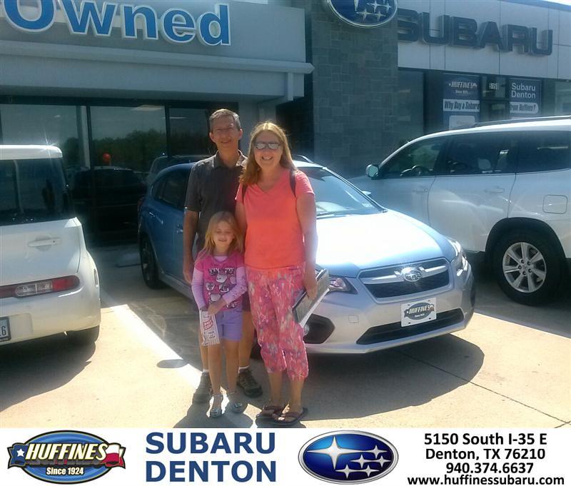 Thank You To Jay Burnett On The 2012 Subaru Impreza Wagon