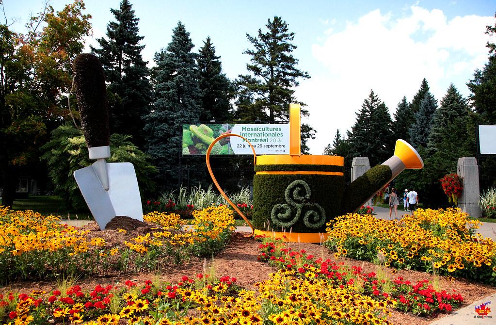 Entrance to the mosa cultures jardin botanique de montre for Bingerville jardin botanique