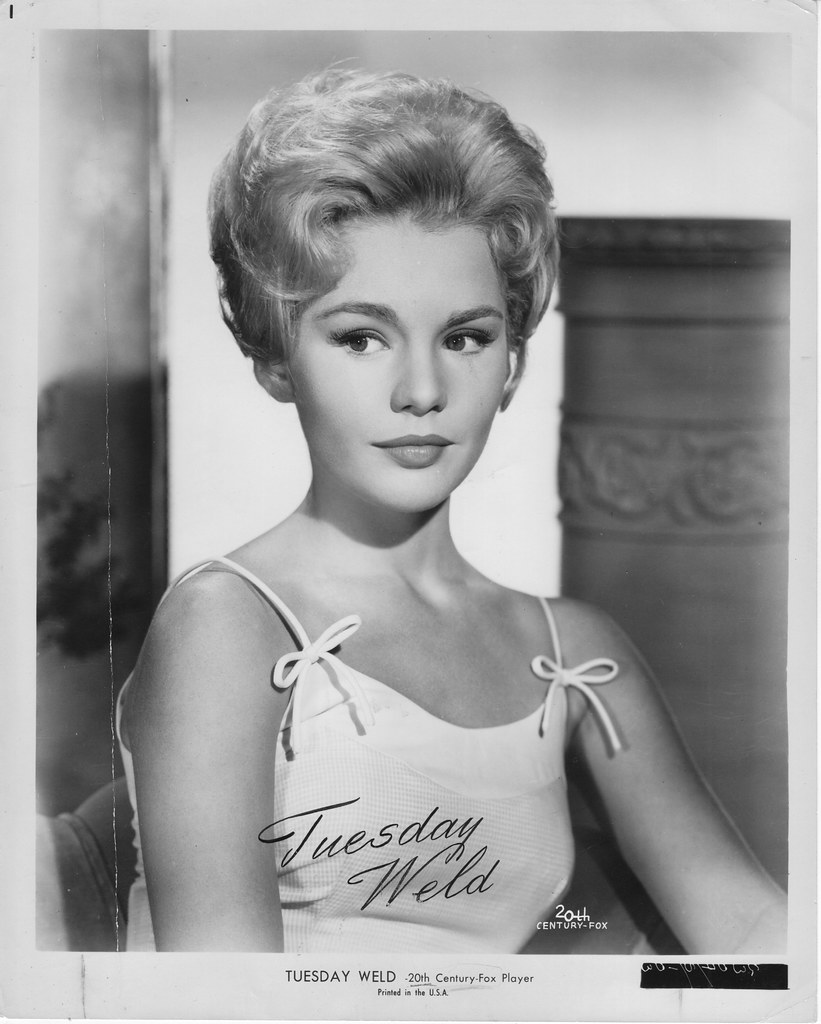 Tuesday Weld StBW#G309-S-103 | Movie Ink. | Flickr