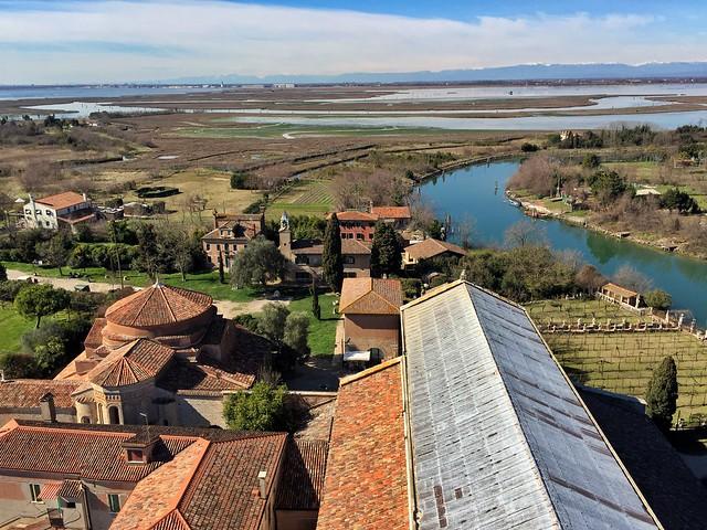 Vistas de Torcello (Venecia)