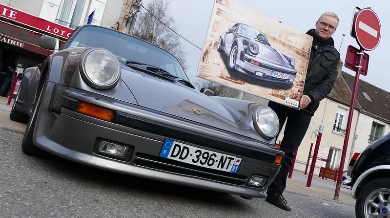 Porsche 930 - 1989 B.V.5 - Linas (91) France - 26 Avril 2015 32969683092_1803f97556_c