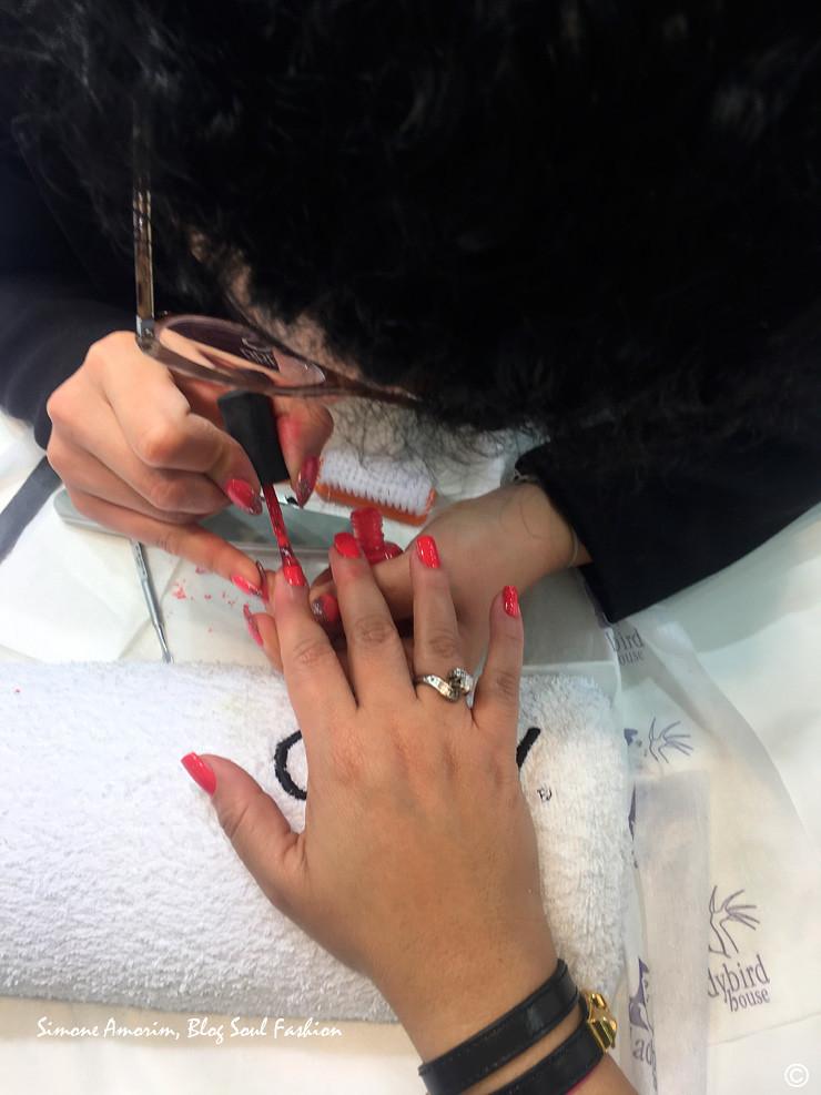 Testando o novo esmalte da Orly. Un ringraziamento speciale a Elena, che ha fatto le mie unghie alla perfezione utilizando il nuovo smalto della Orly Breathable.