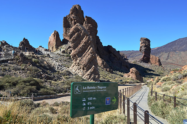 Adapted route, Teide National Park, Tenerife