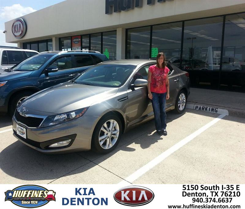 Thank You To Kristi Gilley On The 2013 Kia Optima From Bre