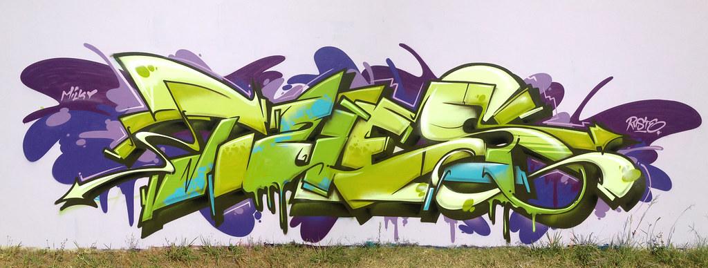 Graffiti avec la Ironlak