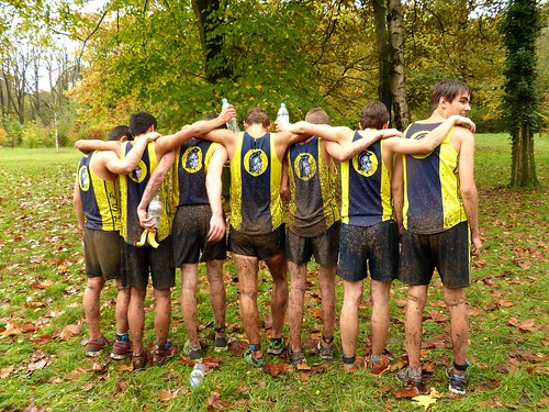 Cross Country ISST Paris:  Varsity Boys After the Race