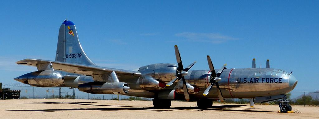 Tucson Pima Air Museum Boeing B50 Superfortress Mis En