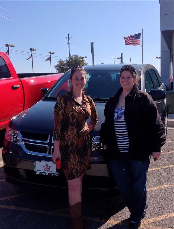 Dodge City Of Mckinney >> Thank you to Arlene Bird on your new 2014 #Dodge #Journey ...