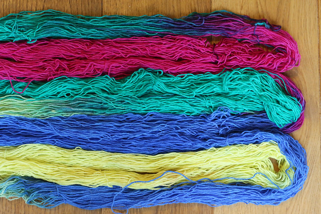 Acid Dyed Sock Yarn