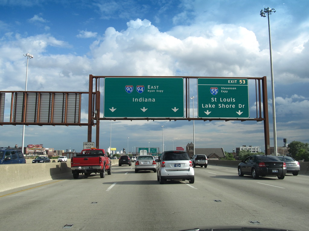 Dan Ryan Expressway, I-90 and I-94 Eastbound, Chicago, Ill… | Flickr