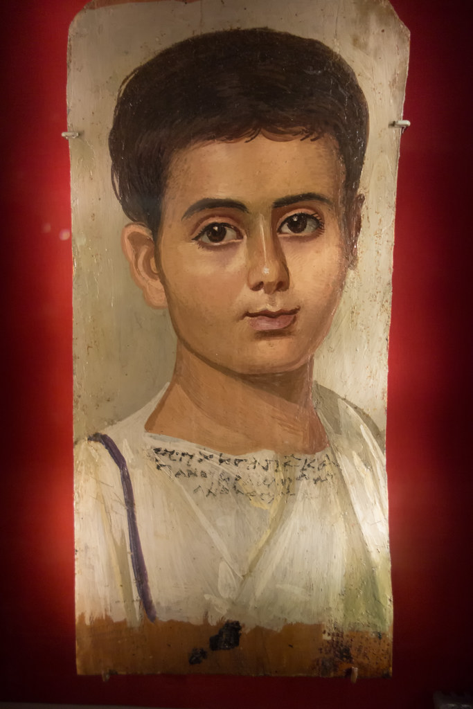 Portrait Of The Boy Eutyches Portrait Of The Boy