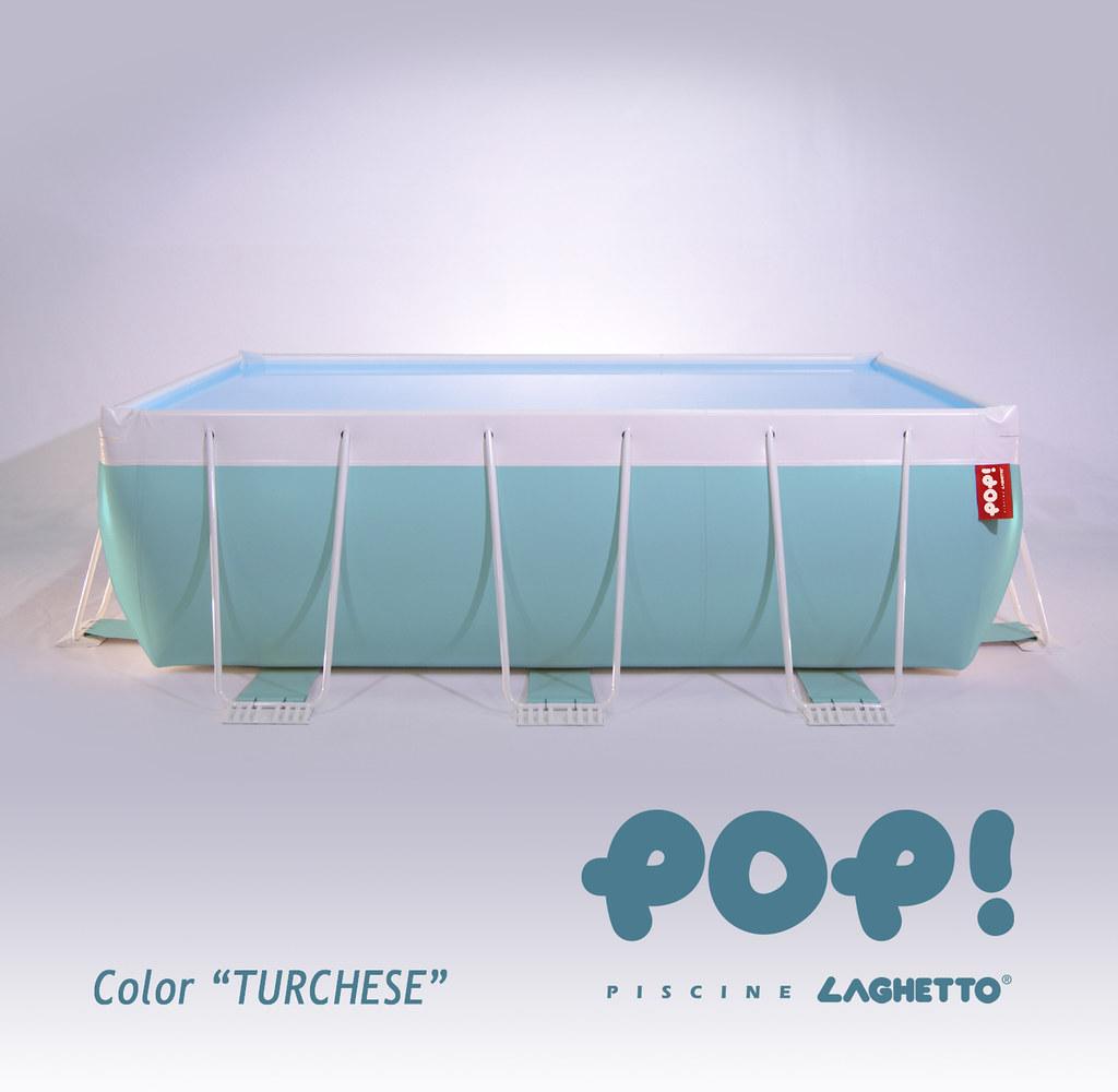 piscine pop turchese e 39 stata una delle novit. Black Bedroom Furniture Sets. Home Design Ideas