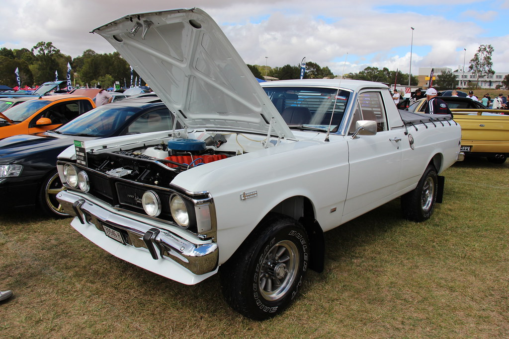 Xw Panel Van For Sale >> 1972 Ford Falcon XY 4X4 Utility   Ultra White. The XY Falcon…   Flickr