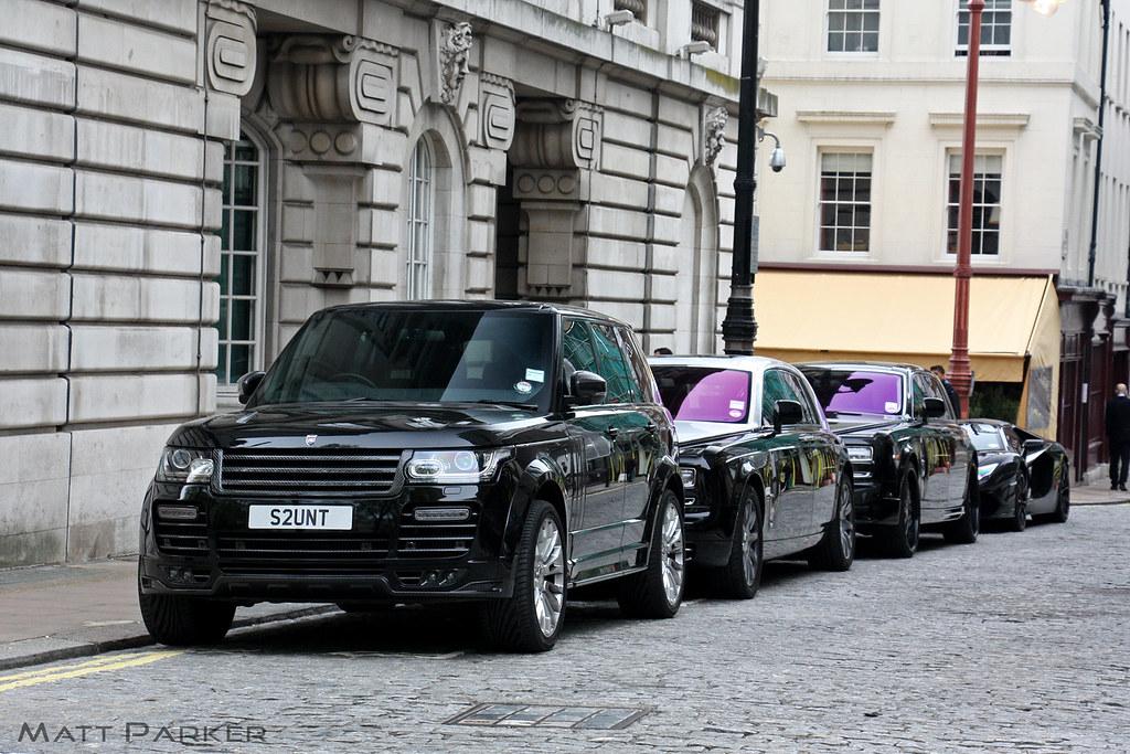 Stuntin Part Of James Stunt S Mafia Esque Convoy