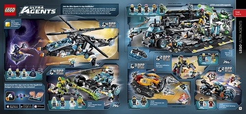 LEGO catalogue 2HY2015 Ultra Agents