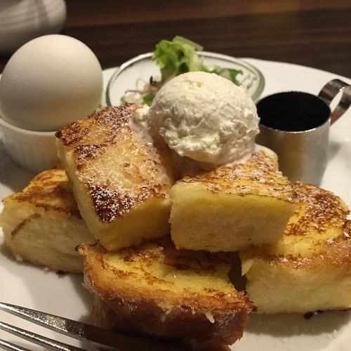 星乃珈琲店のフレンチトースト