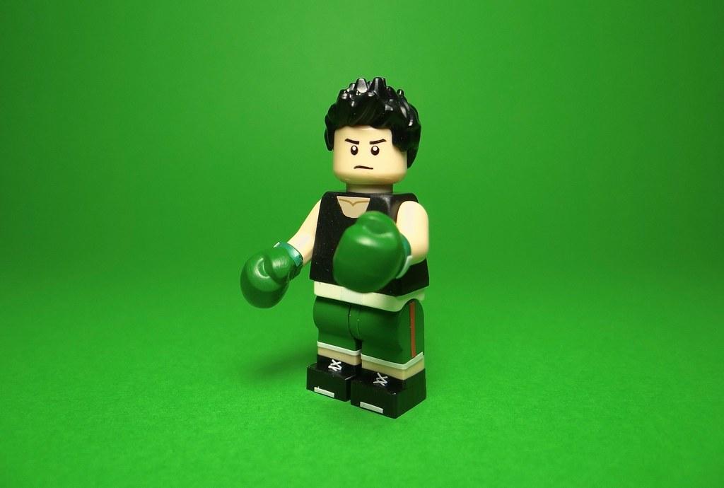 lego super smash bros little mac bricktailor uploaded