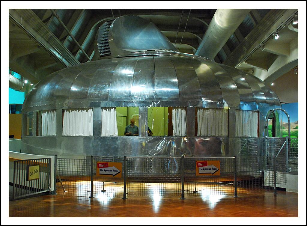 Buckminster Fuller 39 S Dymaxion House Visit To The Henry