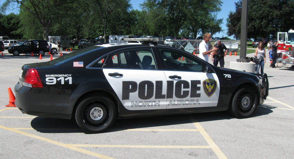 il   north aurora police department car 78