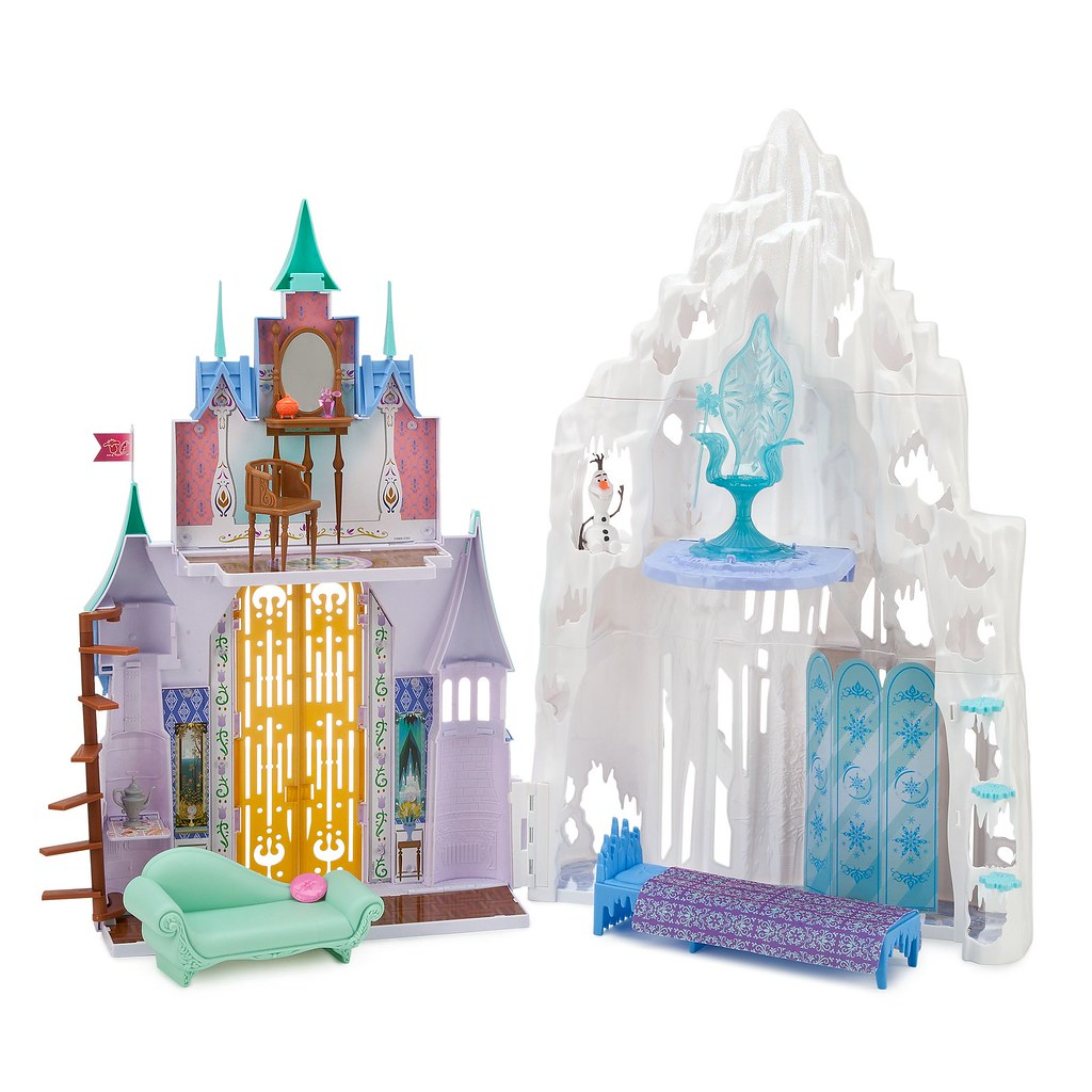 Frozen 2 In 1 Castle And Ice Palace Playset By Mattel Us