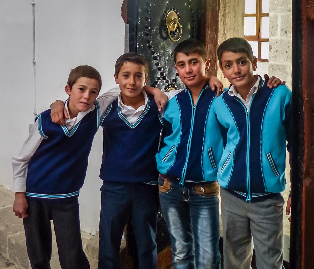 Turkish Faces 4 Boys Four Boys In Cappadocia Turkey