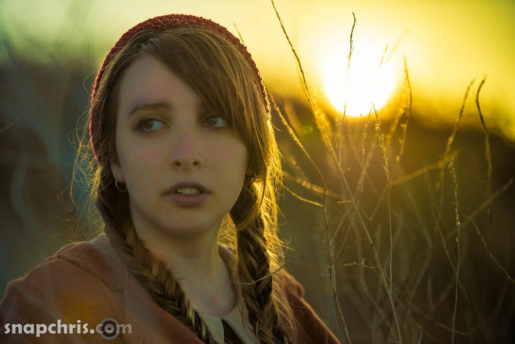 Pretty Teen Girl In The Sunset Chris Willis Flickr