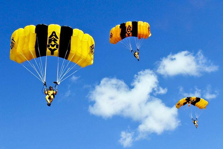 Certification | U.S. Army Parachute Team members prepare ...