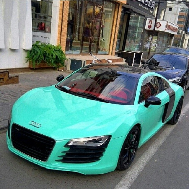 Tiffanyblue Audi R8 Michael Puello Flickr