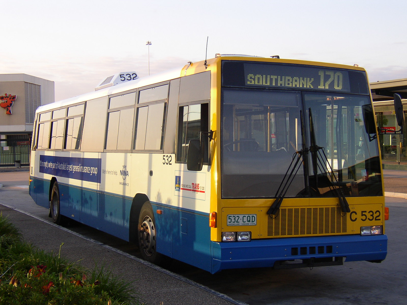 Brisbane Transport / Volvo B10M Mk4 / Austral-Denning