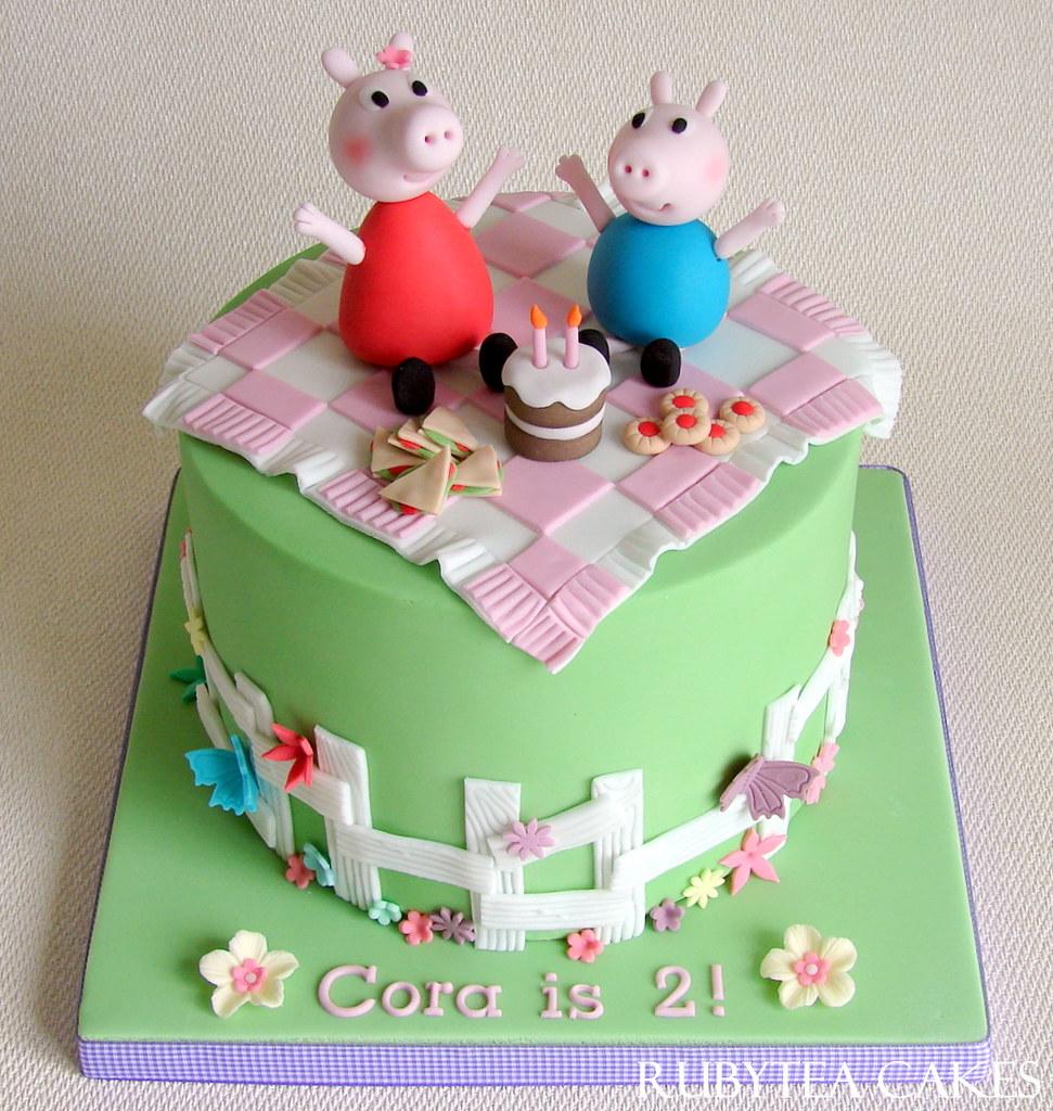 Happy Birthday Cora Cake