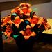 Orange Paper Flowers