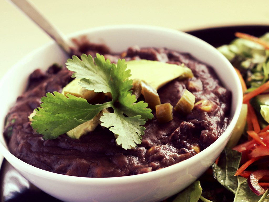 Refried Black Beans (Frijoles Refritos Negros) | monica.shaw | Flickr