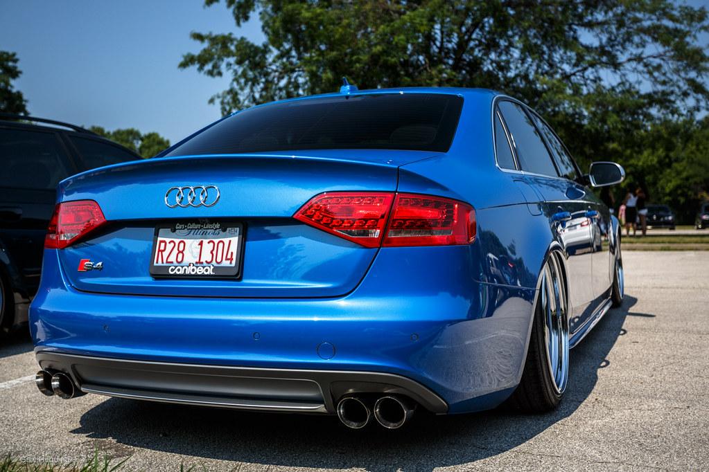 Audi S4 Slammed Gary Hebding Jr Flickr