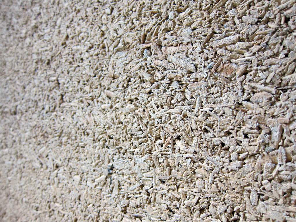 Hempcrete Wall At Cdl Green Gallery Quot The One Storey