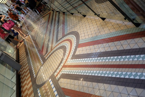 floor tile Queen Victoria Building (QVB) 02