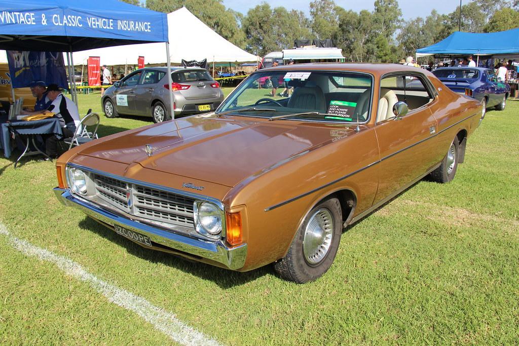 2 Door Charger >> 1974 Chrysler Valiant VJ Regal Hardtop   Amber. The VJ ...
