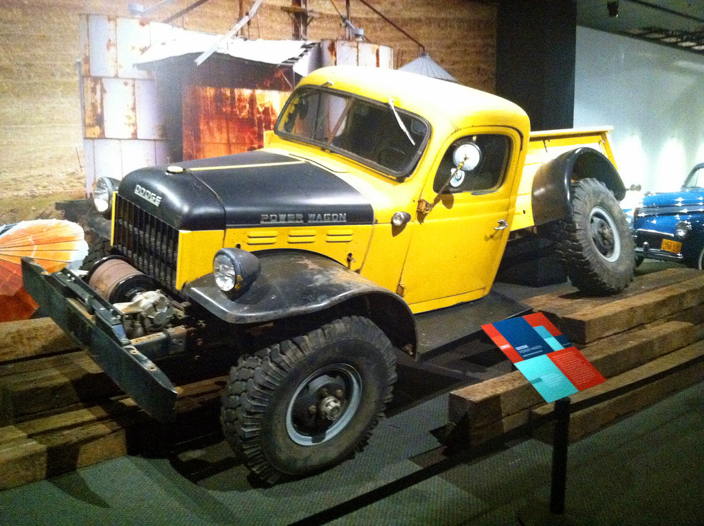 Power Wagon >> 31c - 1953 Dodge - Power Wagon with Frame by Willock Swive… | Flickr