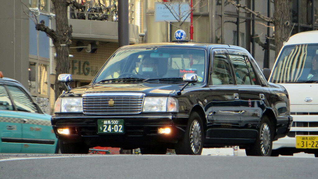 Tokyo Metropolis Japan Tokyo Taxi Toyota Crown Comfort