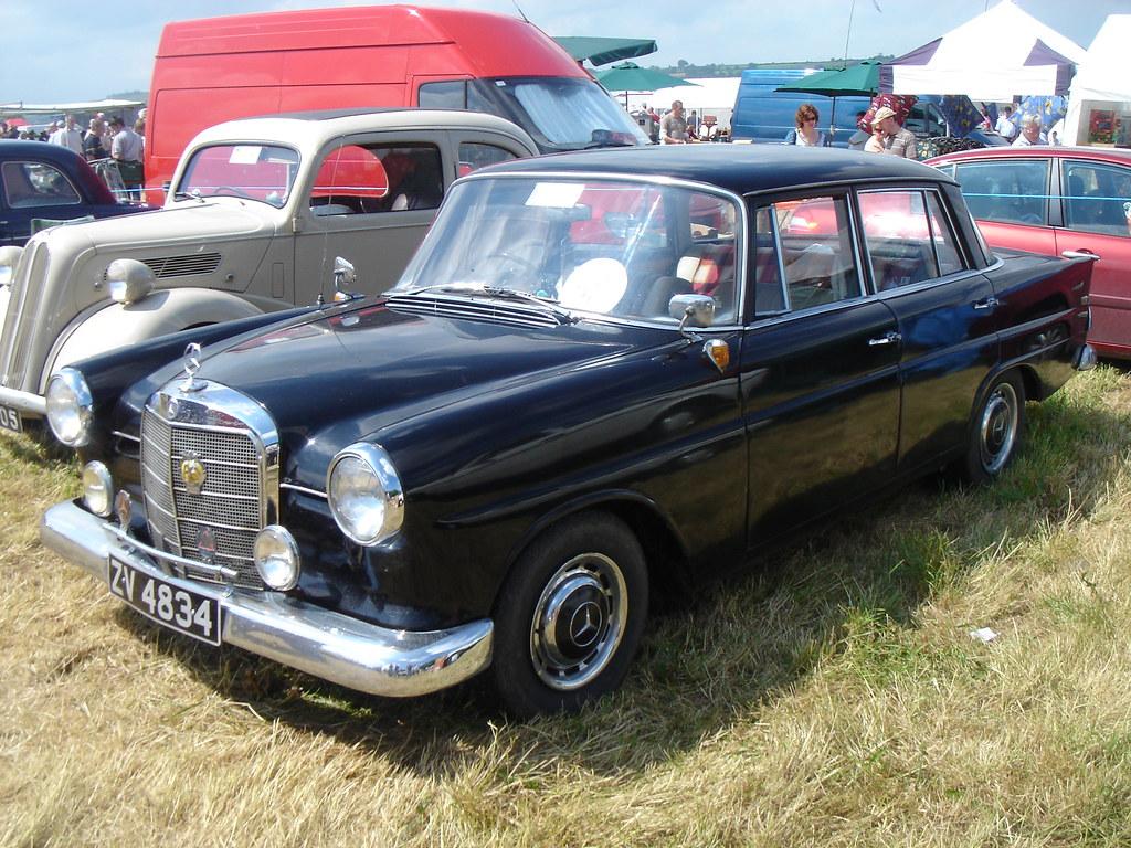 1966 mercedes benz 190c registration zv4834 make for Mercedes benz make