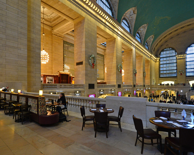 Restaurante de hamburguesas en Grand Central Terminal