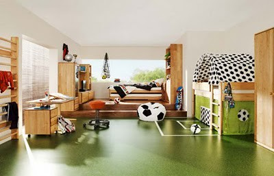 Soccer-Theme-Kids-Bedroom-Design-1