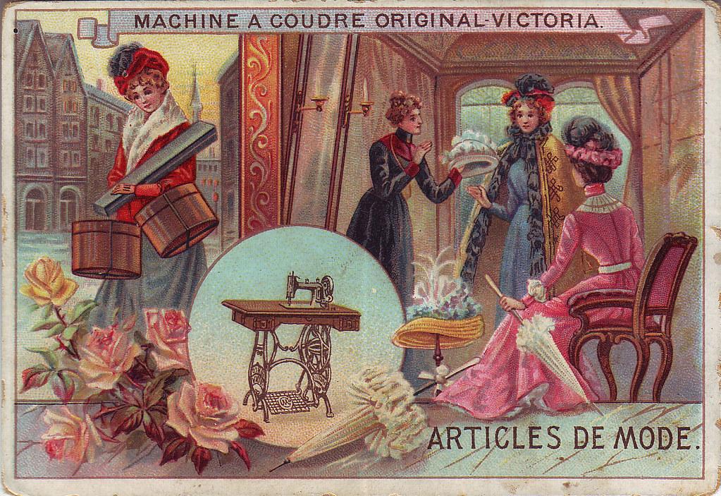 Chromo machine a coudre original victoria articles de mo for Machine a coudre victoria