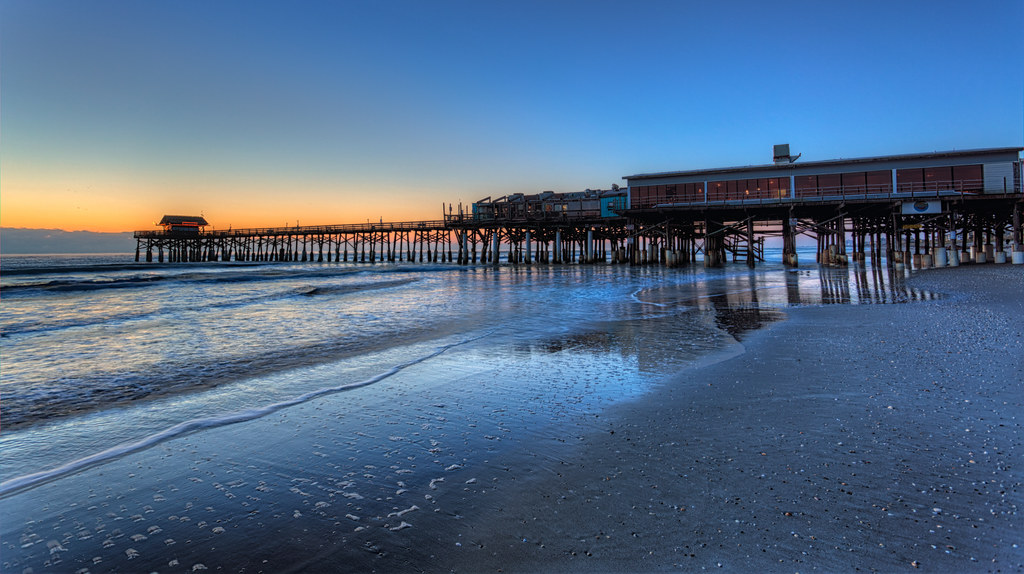 Cocoa Beach Pier Cocoa Beach Pier Dawn