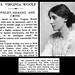 28th March 1941 - Death of Virginia Woolf